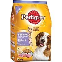 Pedigree Senior Dog Food Chicken & Rice, 3 Kg Pack