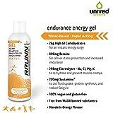 Unived Sports Rrunn Endurance Gel - 13 Servings (Mandarin Orange Flavour) 570g