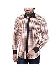 Tag & Trend Men's Slim Fit Casual And Party Wear NAPLES YELLOW Shirt By TRADIX INNOVATIONS