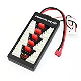 Hobby-Ace T Plug LiPo Battery Balance Charging Board Plate 2-6S Parallel Connect Plate