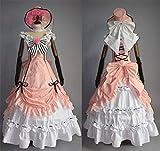 Full Set Cosplay Costumes Black Butler Kuroshitsuji Ciel Soiree Party Dress Princess (L)