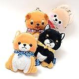 AMUSE Stuffed Animal Mameshiba San Kyodai Gamakuchi 6