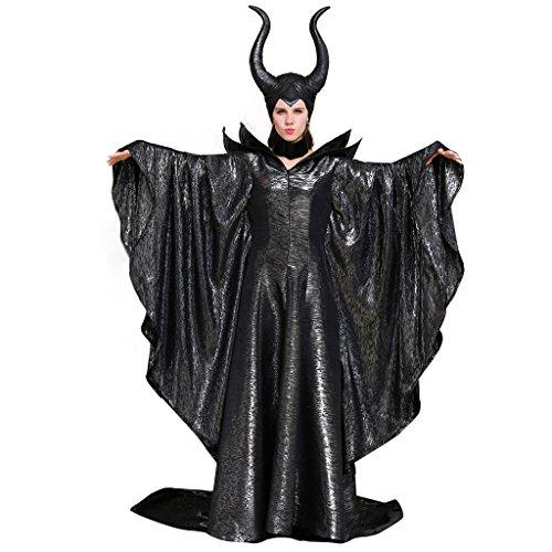 Halloween 2017 Disney Costumes Plus Size & Standard Women's Costume Characters - Women's Costume CharactersCosplaydiy Women's Costumes of Maleficent Angelina Jolie Dark Witch Queen Dress