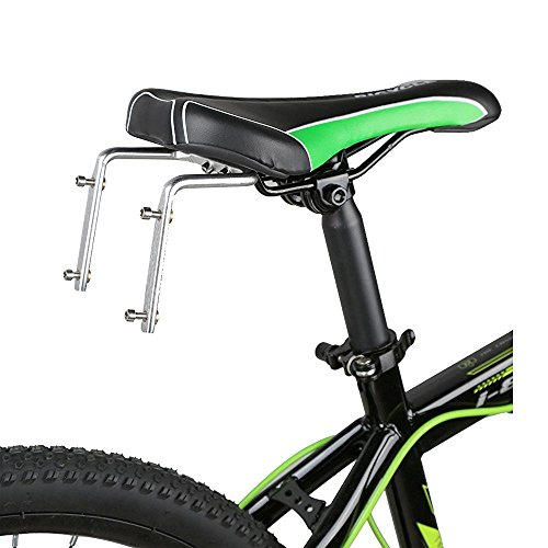 SUPOW® Bike Two Water Bottle Cage Mount – Aluminum Alloy – Double Kettle Holder Bicycle Saddle Equipment