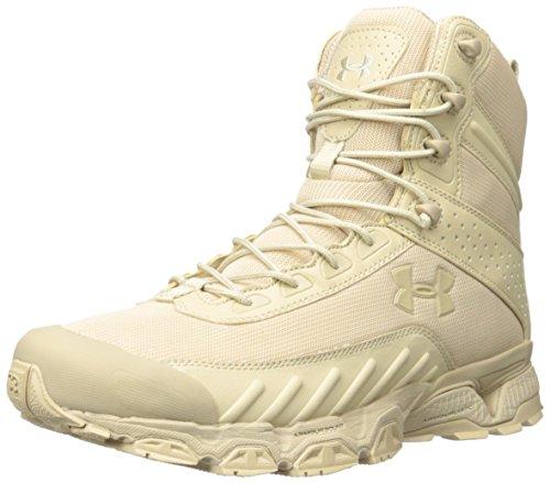 Under Armour - Botas tácticas, color beige, talla 42.5, UA1224003B-9