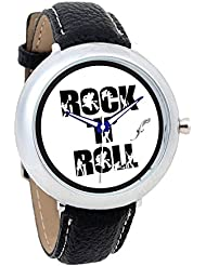 Foster's White Background With Black Color 'Rock N Roll' Written In White Combination-AFW0000716
