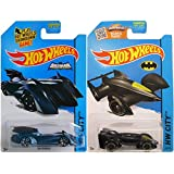 BATMAN LIVE SET 2015 Batmobile Hot Wheels 2 Car Pack Batman Brave And The Bold HW City IN PROTECTIVE