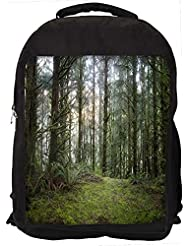 """Snoogg Multiple Branched Tree Casual Laptop Backpak Fits All 15 - 15.6"""" Inch Laptops"""