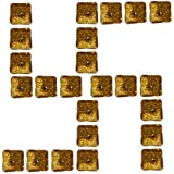 Atorakushon Smokeless Pack Of 24 Glitter Tealight Candle T.lite Candles Floating Candle For Diwali Birthday Party...