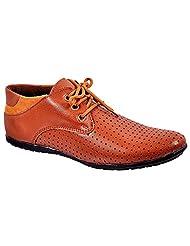 Aureno Men's Synthetic Sneakers - B011BGHSUG