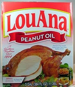 Amazon.com : LouAna Pure Peanut Frying Oil 3 Gallons