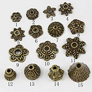 Amazon.com: HYBEADS 100-150Piece Bali Style Jewelry Making