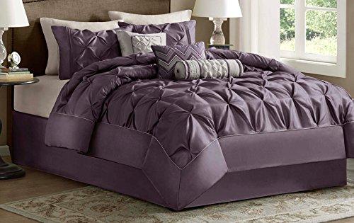 Madison Park Laurel Comforter Set, Full, Plum