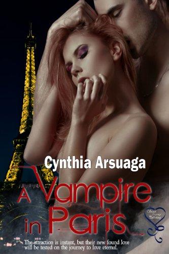 Book: A Vampire in Paris by Cynthia Arsuaga