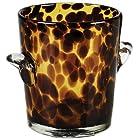 IMPULSE Tortoise Ice Bucket, Brown/Spotted, Set of 1