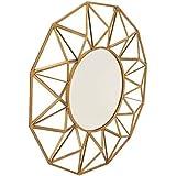 """Deco 79 54348 Metal Wall Mirror, 34"""""""