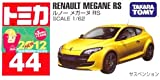 TOMY TOMICA No.44 RENAULT MEGANE RS COLOR YELLOW 1 : 62 NEW 2012