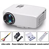LED Projector ,Swyss Business And Home Use Cinema Theater Multimedia LED LCD Projector HD 1080P PC AV TV VGA USB...
