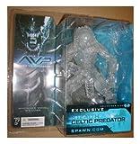 McFarlane Collectors Club Stealth Predator Figure - AvP Alien vs Predator Scar Exclusive