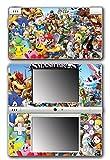 Super Smash Bros Melee Brawl Mario Pikachu Yoshi Mega Man Zelda Sonic Metroid Video Game Vinyl Decal Skin Sticker Cover for Nintendo DSi System