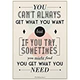 Printelligent Posters The Rolling Stones Poster The Rolling Stones Posters For Room Posters Of The Rolling Stones The Rolling Stones Quotes Decorative Poster With Size Of News Paper Size 14 Inch X 26 Inch And Great Designs High Quality Matte Finish 32 Mic