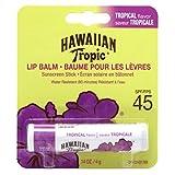 Hawaiian Tropic Tropical Sunscreen Lip Balm, Spf 45+ (2 Pack)