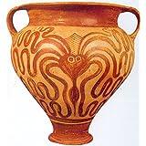 Decoritte Teracotta Artistic Potteries (40 Cm X 20 Cm X 1 Cm, DAPV18)