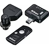 Nikon WR-10 Wireless Remote Controller Set Includes WR-T10 Remote Controller, WR-R10 Remote Transceiver & WR-A10...