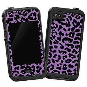 iphone 4s cases amazon purple leopard quot protective decal skin quot for 3943