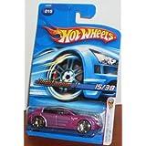 Hot Wheels 2006 First Editions 15 Of 38 Unobtainium 1 Purple
