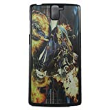 FCS 3D Hard Back Case For OnePlus One In Glossy Finish. Design-16