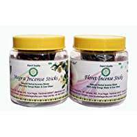 COMBO PACK OF TWO TYPES INCENSE STICKS (Floret + Mogra)