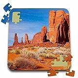 Danita Delimont - Rock formations - Thumb, Three Sisters Rock Formations, Arizona, USA - US03 BJN0011 - Brian Jannsen - 10x10 Inch Puzzle (pzl_142300_2)