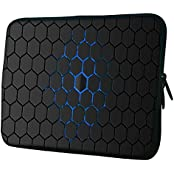 """Snoogg Honeycomb 10"""" 10.5"""" 10.6"""" Inch Laptop Notebook Slipcase Sleeve Soft Case Carrying Case For Macbook Pro..."""