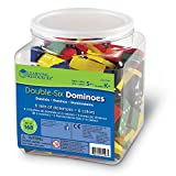 Learning Resources Doublesix Dominoes In Bucket
