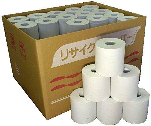 [超業務用] 無包装トイレットペーパー シングル100m 60個入り 牧製紙が作る柔らかソフトタイプ! 再生紙100% 漂白剤・蛍光剤は未使用 安心の国産品(岐阜県美濃市にて製造)