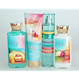 Bath And Body Works Endless Weekend Gift Set Of Shower Gel Body Cream Body Lotion And Mist