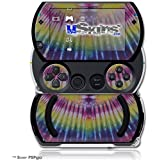 Tie Dye Pink And Yellow Stripes Decal Style Skins (Fits Sony Ps Pgo)