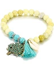 Hot And Bold Fascinating Beaded Tibetan Charm Adjustable Bangles & Bracelets For Women & Men. Free Size. Designer...