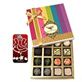 Chocholik Belgium Chocolates - Assorted White And Dark Truffle And Chocolate Gift Box With With 3d Mobile Cover...