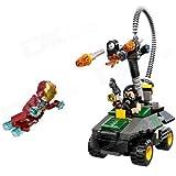 Genuine Lego - 76008 Iron Man Vs The Mandarin Ultimate Showdown - Best For Gift