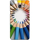 PrintVisa Designer Back Case Cover For Samsung Galaxy On Max (Coloured Pencils Pattern)