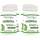 Perennial Lifesciences Moringa Extract Dietary Supplement - 60 Capsules (Pack Of 4)