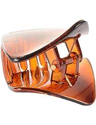 Jasmine Fashion Accessories Brown Plastic Hair Clip For Women (A17)