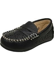 Zebra Boys Synthetic Loafers - B01EA47IHE