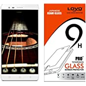 Lenovo Vibe K5 Note Tempered Glass,Tempered Glass Screen Guard, Temper Glass, LOYO Tempered Glass Screen Protector...