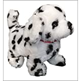 The Walking Barking And Tail Wagging Dalmatian Dog Pet Toy (Batteries And Easy Buy Crayon Gift Included)