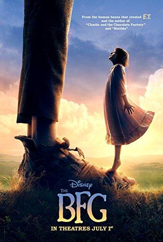 THE BFG Original Movie Poster 27x40 DS - ADVANCE - REBECCA HALL - Disney Movie Tie-In #TheBFGEvent