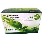 Budwhite Green Tea, 25 Tea Bag