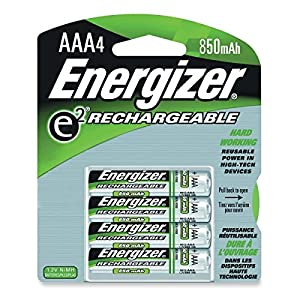 Amazon.com: Energizer Rechargeable AAA Batteries (4-pk